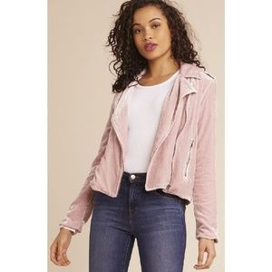 Rose You Stay Moto Jacket